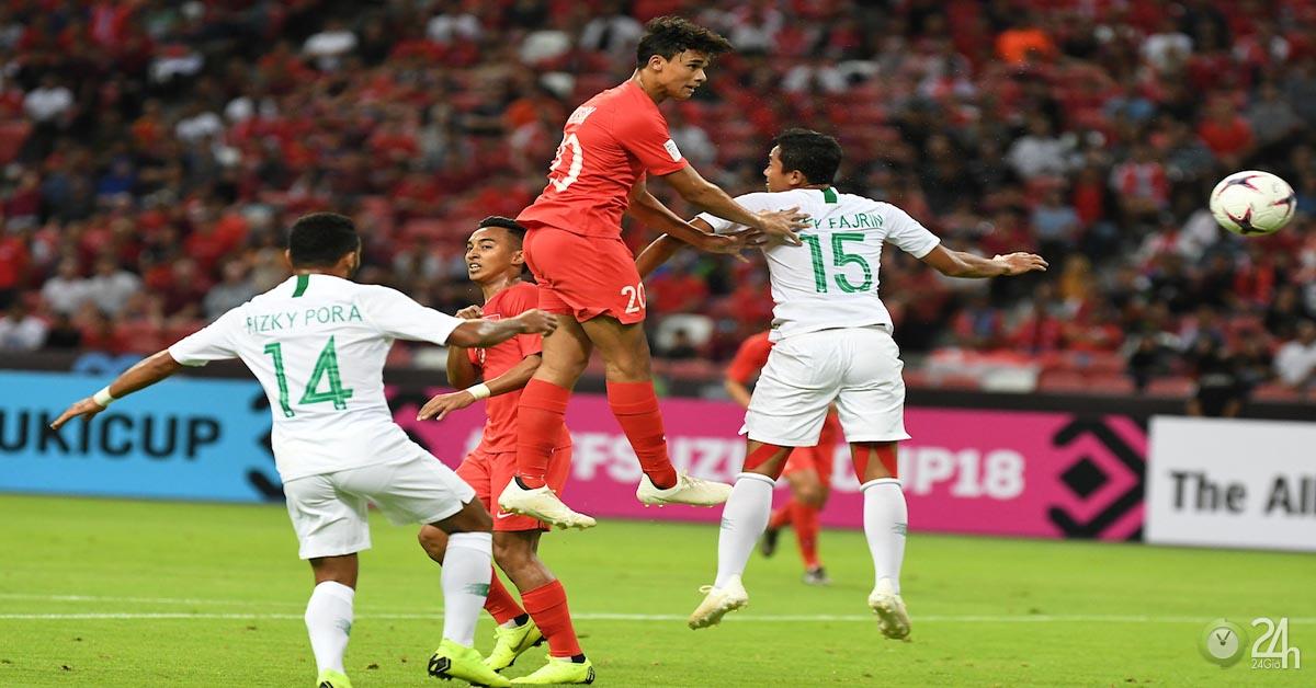 Video, kết quả bóng đá Philippines - Singapore: Thế trận đôi công quyết liệt (AFF Cup 2018)
