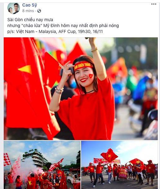 AFF Cup: Fan Việt nhuộm đỏ Facebook trước trận Việt Nam - Malaysia - 2