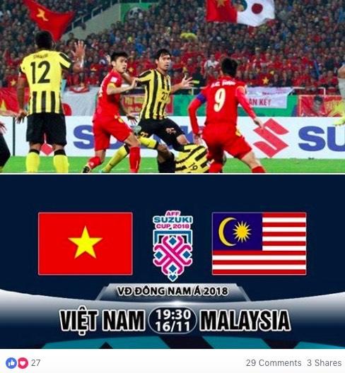 AFF Cup: Fan Việt nhuộm đỏ Facebook trước trận Việt Nam - Malaysia - 8