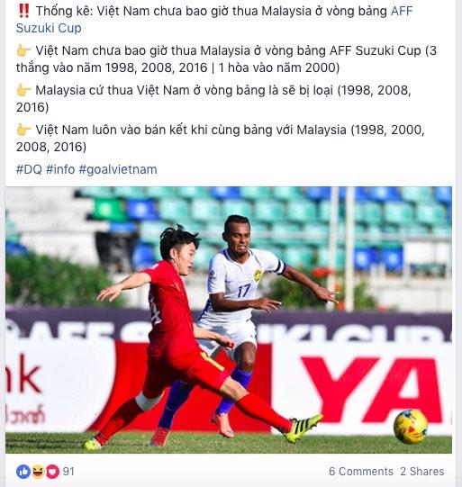 AFF Cup: Fan Việt nhuộm đỏ Facebook trước trận Việt Nam - Malaysia - 6