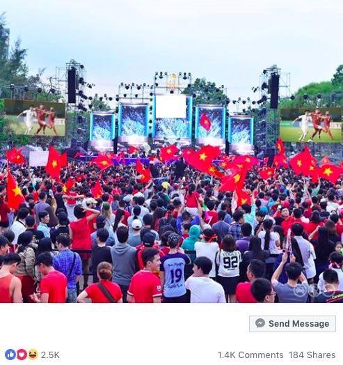 AFF Cup: Fan Việt nhuộm đỏ Facebook trước trận Việt Nam - Malaysia - 14
