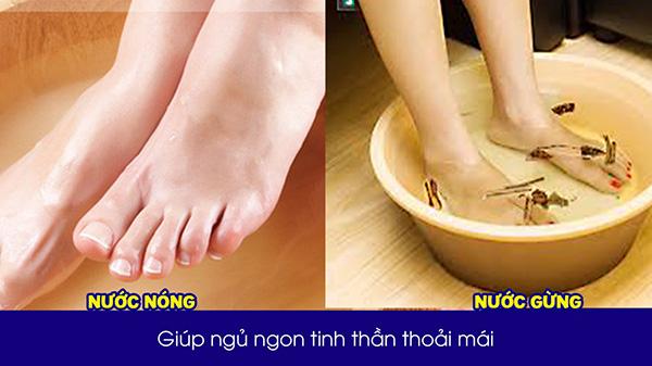 """Chỉ cần sử dụng 4 loại nước ngâm chân này:  Khó ngủ, mất ngủ lâu ngày đến mấy cũng phải """"chào thua"""" - 1"""