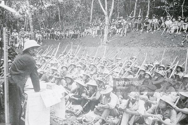 Những bức ảnh quý hiếm về nghề giáo thời chiến tranh - 3