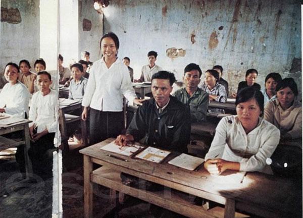 Những bức ảnh quý hiếm về nghề giáo thời chiến tranh - 4