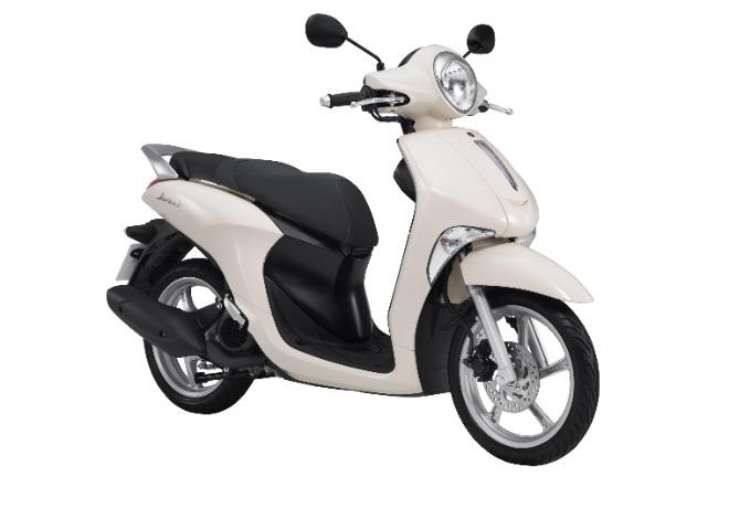 Yamaha Janus Tung Loạt Màu Mới Quyết đấu Honda Vision