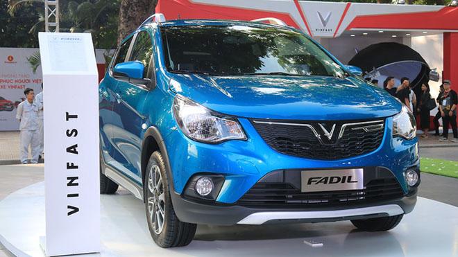 Giá lăn bánh các mẫu xe VinFast: Xe cỡ nhỏ Fadil từ 436 triệu đồng - 4