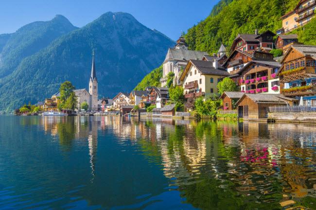 Mãn nhãn với những ngôi làng đẹp nhất châu Âu, tới đây tha hồ ...