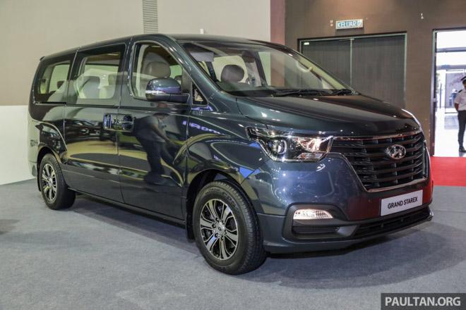 Hyundai mang Grand Starex 2019 thế hệ mới đến Malaysia - 1