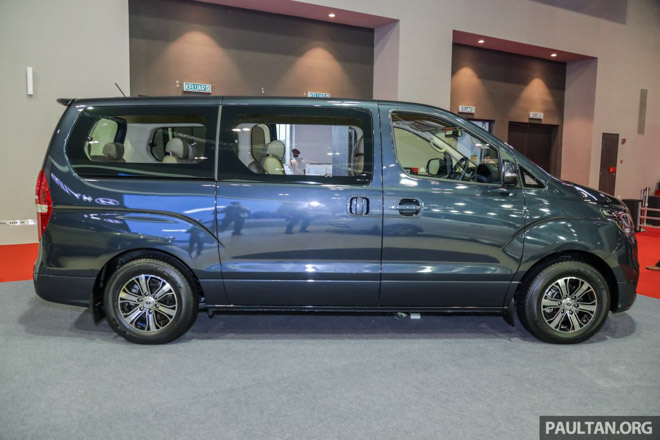 Hyundai mang Grand Starex 2019 thế hệ mới đến Malaysia - 3