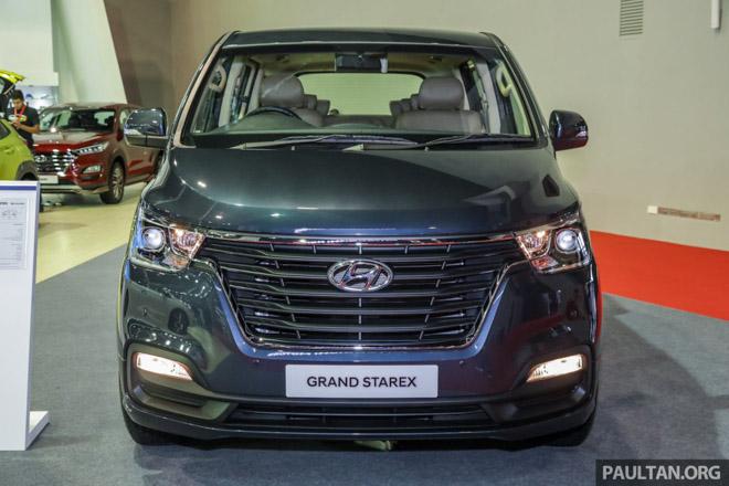 Hyundai mang Grand Starex 2019 thế hệ mới đến Malaysia - 9