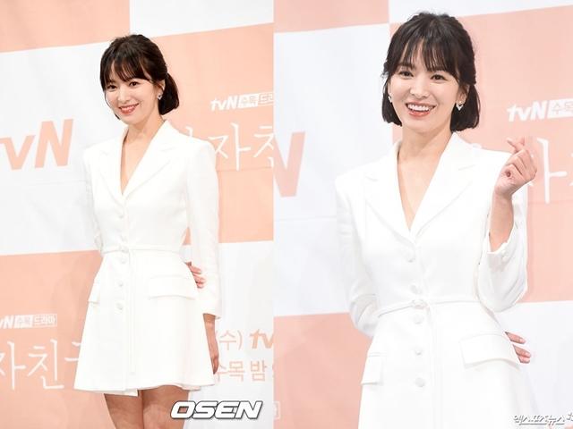 Song Hye Kyo trẻ ra 10 tuổi khi mặc màu này