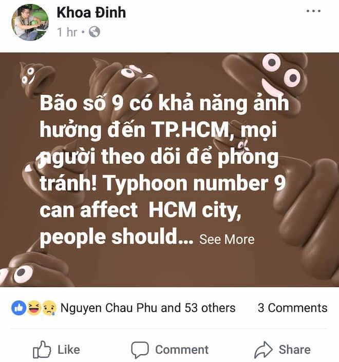 Dân mạng lo lắng trước cơn bão số 9 sắp đổ bộ Nam Bình Thuận tới Bến Tre - 3