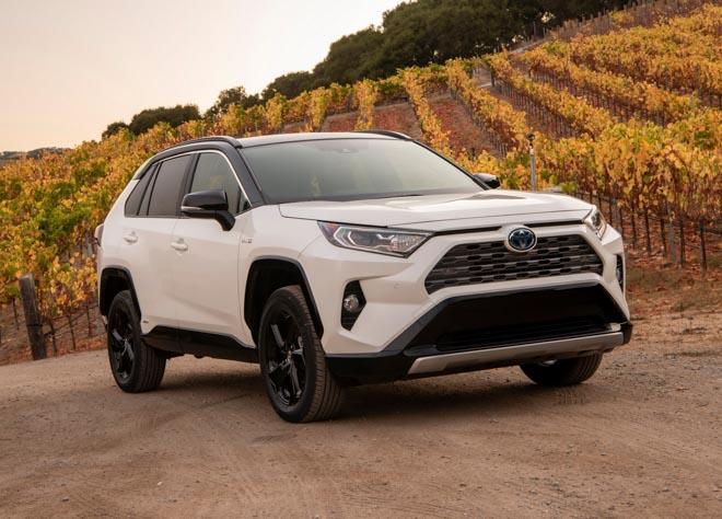 Toyota RAV4 2019 có giá từ 25.500 USD tại Mỹ - 1