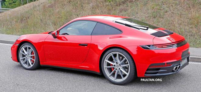 Porsche 911 thế hệ mới lộ diện trước thời điểm ra mắt chính thức - 4
