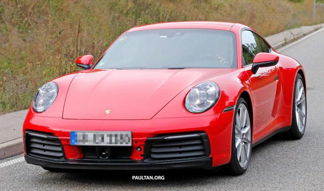 Porsche 911 thế hệ mới lộ diện trước thời điểm ra mắt chính thức - 1