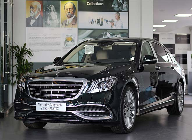 Bảng giá xe Mercedes S400 kèm giá bán các dòng xe Mercedes S mới nhất - 2