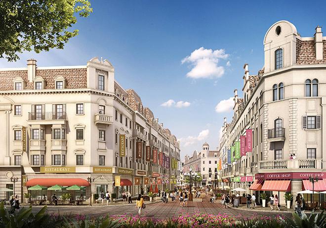 Hạ Long: Dãy shophouse như khu phố châu Âu hoa lệ sắp xuất hiện - 1