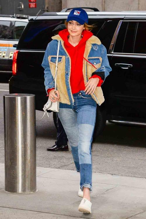 Bộ sưu tập áo khoác đáng mơ ước của Gigi Hadid - 7