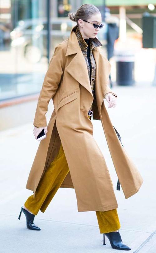 Bộ sưu tập áo khoác đáng mơ ước của Gigi Hadid - 8
