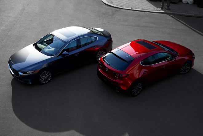 Mazda3 2019 hé lộ những hình ảnh thực tế đầu tiên - 1