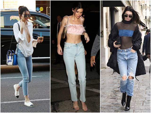 Bí mật về quần jean - món đồ yêu thích của Kendall Jenner