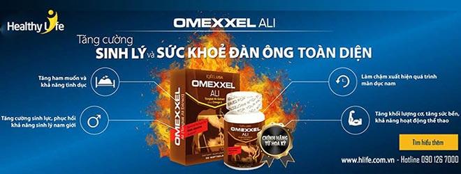 Healthy Life chăm sóc sức khỏe sinh lý nam giới bằng sản phẩm Omexxel Ali USA - 1