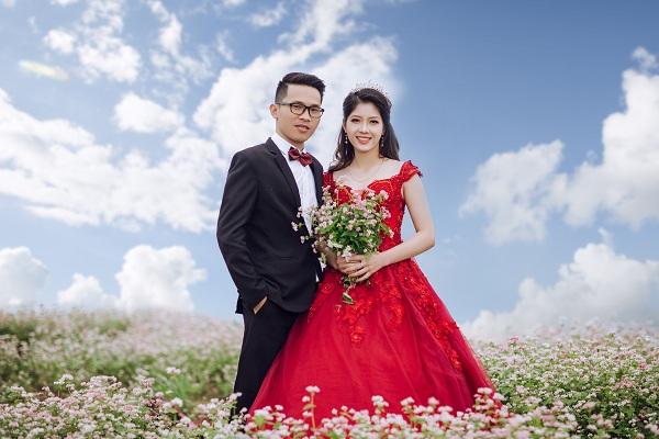 Mê mẩn ngắm đồi hoa tam giác mạch trên cao nguyên Mộc Châu lộng gió - 4