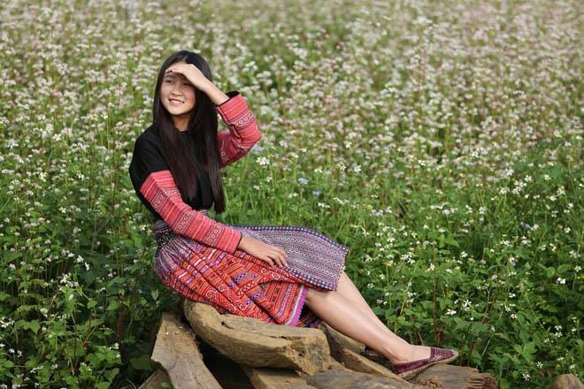 Mê mẩn ngắm đồi hoa tam giác mạch trên cao nguyên Mộc Châu lộng gió - 6