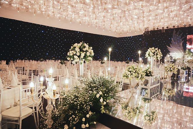 Không gian tiệc cưới hoàng gia của Ưng Hoàng Phúc - Kim Cương, dự kiến có 700 khách dự - 4