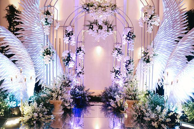 Không gian tiệc cưới hoàng gia của Ưng Hoàng Phúc - Kim Cương, dự kiến có 700 khách dự - 3