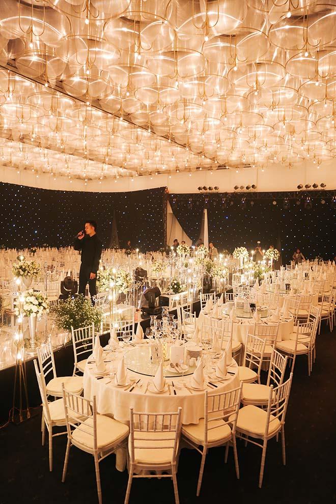 Không gian tiệc cưới hoàng gia của Ưng Hoàng Phúc - Kim Cương, dự kiến có 700 khách dự - 8