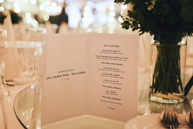 Không gian tiệc cưới hoàng gia của Ưng Hoàng Phúc - Kim Cương, dự kiến có 700 khách dự - 9