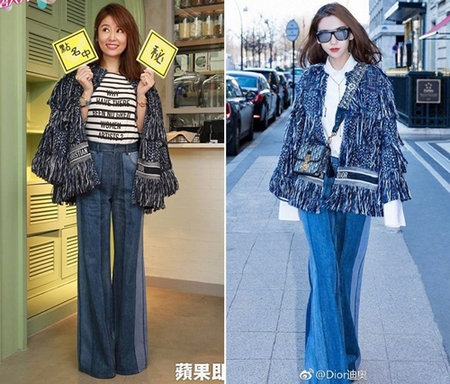 Biệt tài biến hàng hiệu thành hàng Taobao của sao Hoa ngữ - 7