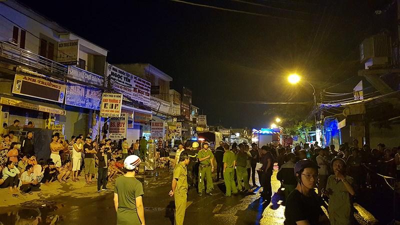Lửa vây công nhân đang ngủ ở Bình Tân, 1 người chết ngạt - 2