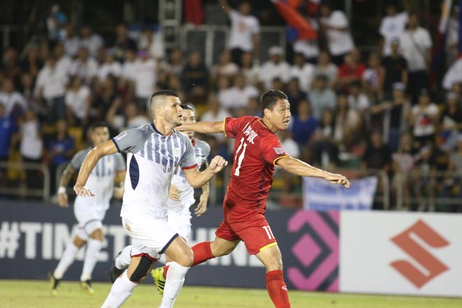 ĐT Việt Nam vỡ òa: Văn Hậu kiến tạo như Bale, Anh Đức đẳng cấp ghi bàn - 1