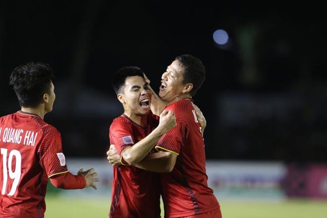 ĐT Việt Nam vỡ òa: Văn Hậu kiến tạo như Bale, Anh Đức đẳng cấp ghi bàn - 5