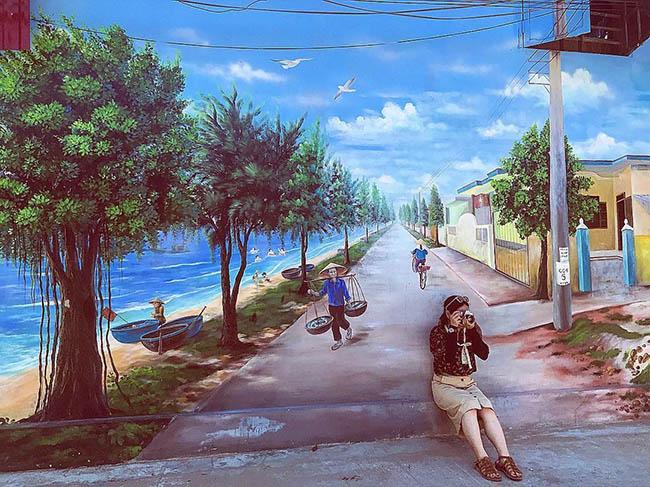 """""""Check- in"""" ngôi làng bích họa đẹp mộng mơ ở Quảng Bình - 1"""