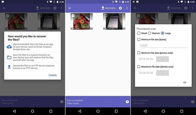 Thủ thuật Android: Cách khôi phục hình ảnh đã xóa trên điện thoại - 2