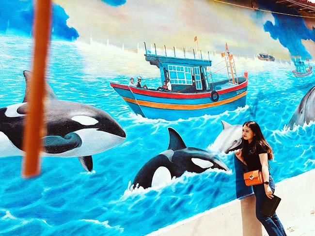 """""""Check- in"""" ngôi làng bích họa đẹp mộng mơ ở Quảng Bình - 2"""