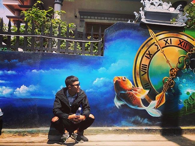 """""""Check- in"""" ngôi làng bích họa đẹp mộng mơ ở Quảng Bình - 4"""