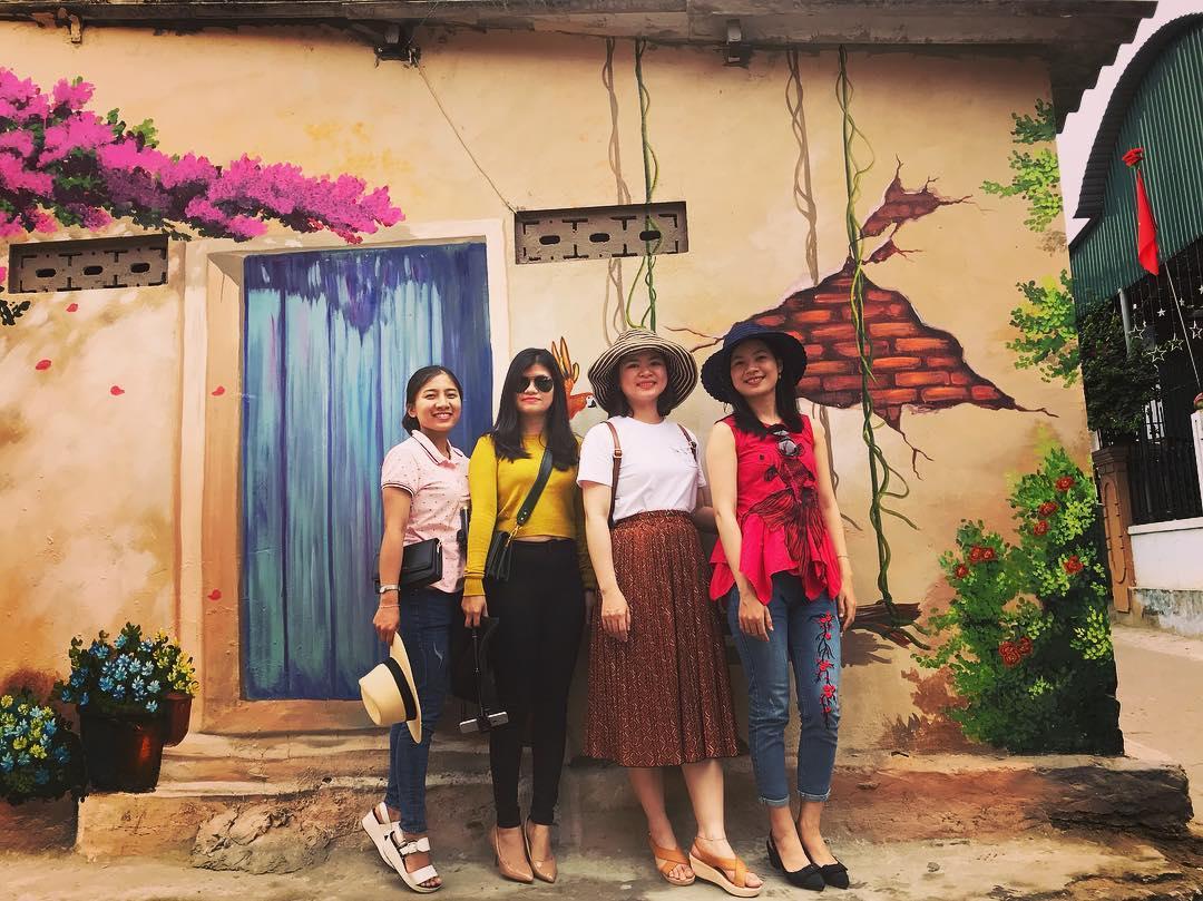 """""""Check- in"""" ngôi làng bích họa đẹp mộng mơ ở Quảng Bình - 8"""