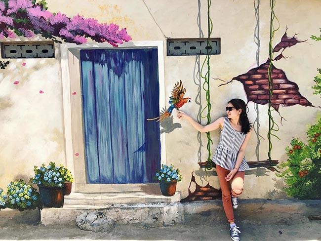 """""""Check- in"""" ngôi làng bích họa đẹp mộng mơ ở Quảng Bình - 9"""