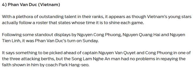 SAO sáng nhất bán kết AFF Cup: Báo châu Á mê mẩn Phan Văn Đức - 2