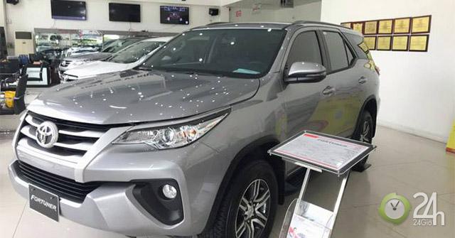 Bảng giá xe Toyota Fortuner 2018 cùng nhiều ưu đãi hấp dẫn trong tháng 12