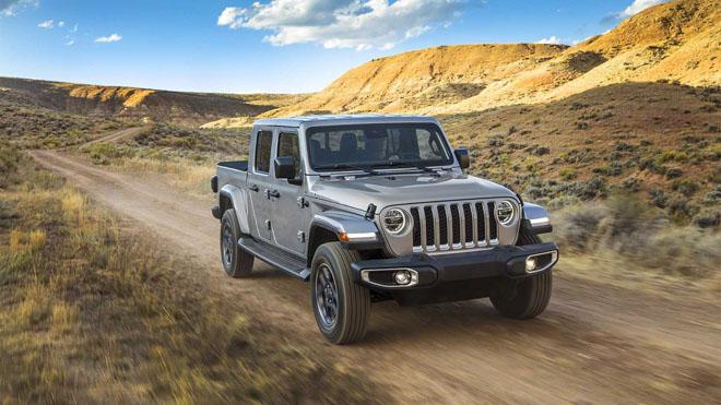 Jeep trình làng bán tải chuyên dụng off-road Gladiator 2019 - 12