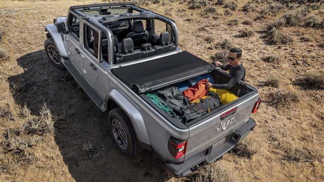 Jeep trình làng bán tải chuyên dụng off-road Gladiator 2019 - 11