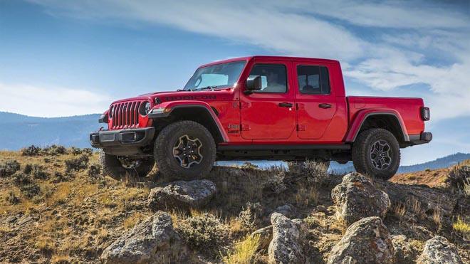Jeep trình làng bán tải chuyên dụng off-road Gladiator 2019 - 1