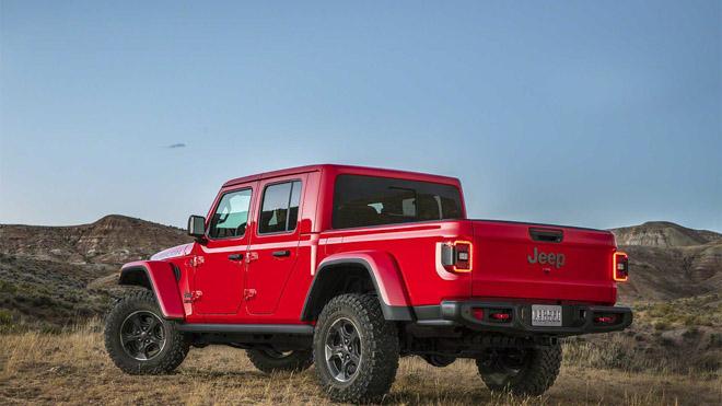 Jeep trình làng bán tải chuyên dụng off-road Gladiator 2019 - 3