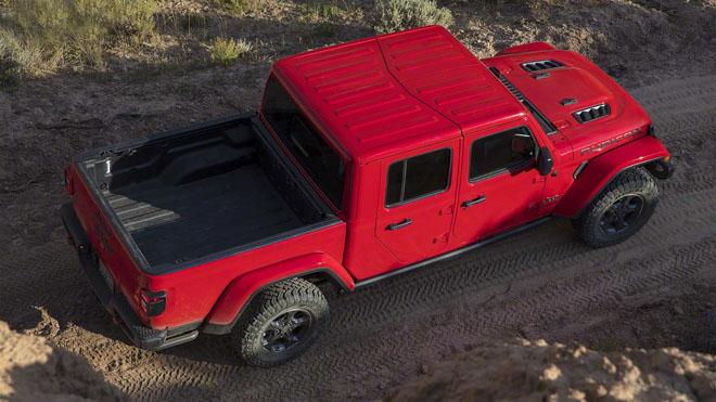 Jeep trình làng bán tải chuyên dụng off-road Gladiator 2019 - 2