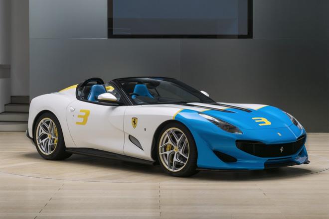 """Ferrari giới thiệu siêu xe """"có một không hai"""" SPCJ3 - 1"""